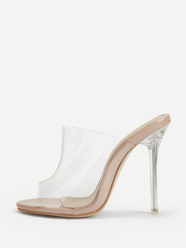 Transparent Stiletto Heels
