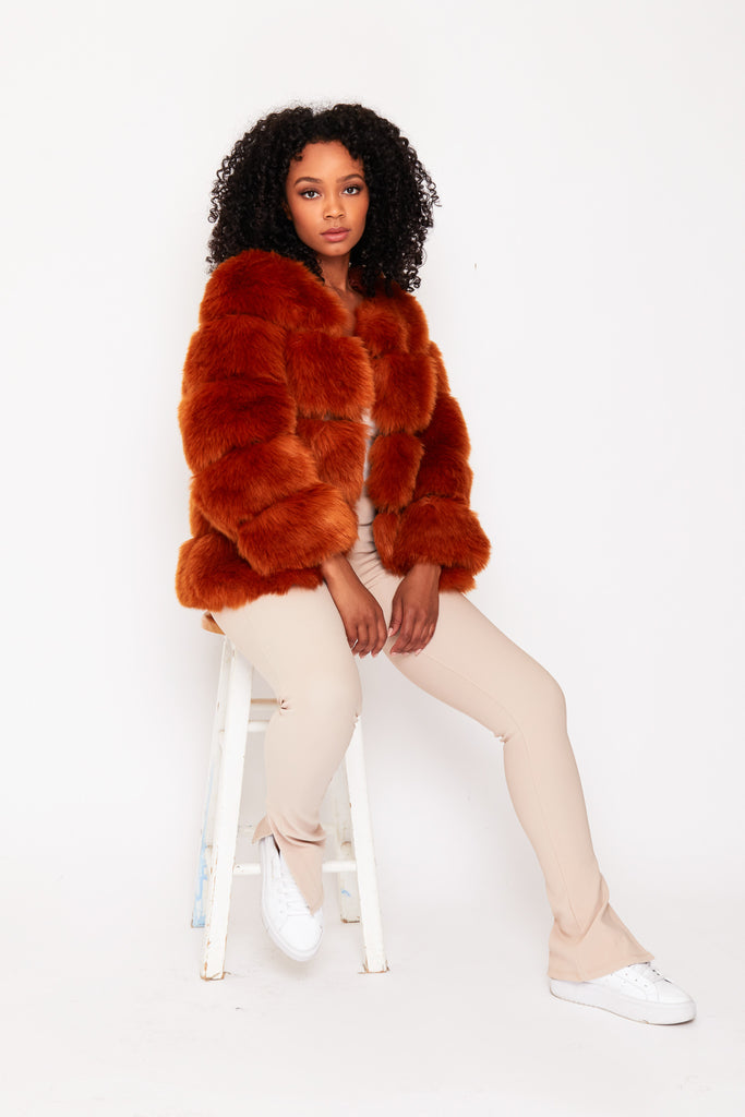 GINGER faux fur