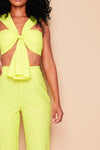 Eva neon yellow co ord