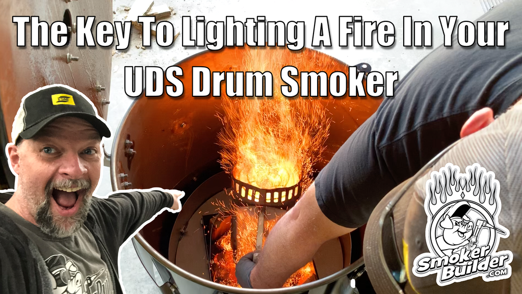 The Key To Lighting A Fire In Your UDS Drum Smoker
