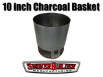SmokerBuilder Manufacturing 10 inch round charcoal basket for 30 gallon uds