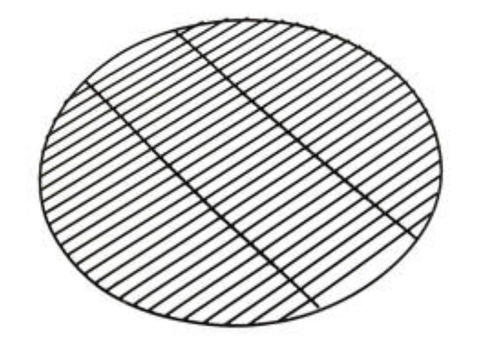 21 inch porcelain cooking grate without handles