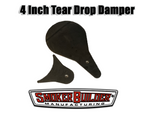 4 1/2 Inch TearDrop Smoke stack cover assembly