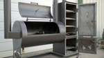 2040 Traditional Offset Patio Smoker