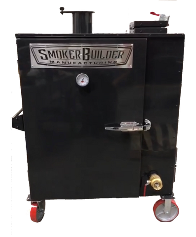 DoublePan Gravity Feed Smoker
