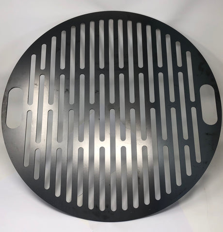 SLOTTED PLASMA CUT COOKING GRATE 25.5 INCHES DIAMETER, FITS 85 GALLON DRUM