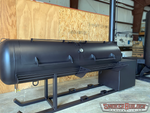 330 Gallon Propane Tank Reverse Flow Or Offset Style Smoker