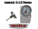 LavaLock 3 inch dial 2.5 inch stem thermometer