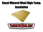 "Roxul High Temp Insulation- 1.5 inch thick-  (4- 24""x24"" sheets)"