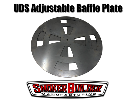 2 piece adjustable uds baffle plate