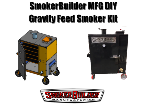 SmokerBuilder Manufacturing diy gravity feed smoker kit- DoublePan™