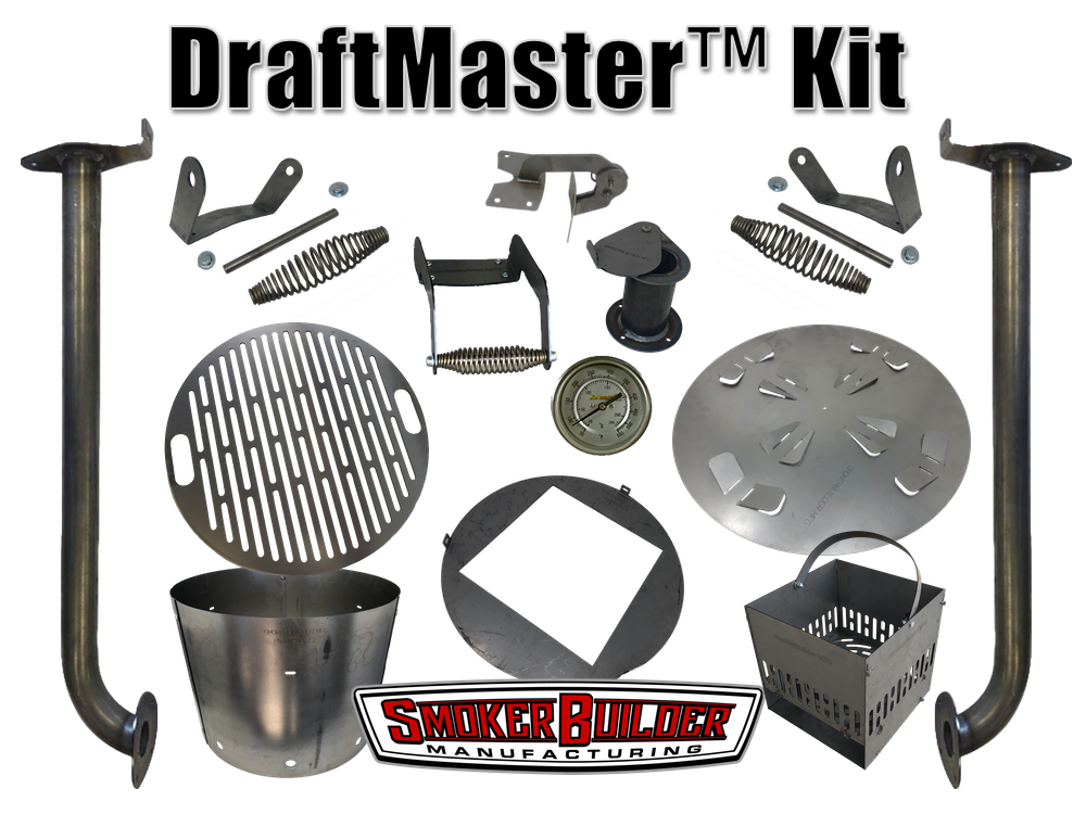 DRAFTMASTER™ DIY Drum Smoker Kit