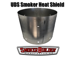 3 piece heat shield for uds drum smoker