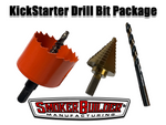 Kick Starter Drum Smoker Drill Bit Set.