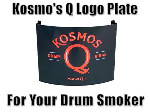 Kosmo's Q Logo Plate For UDS Drum Smoker