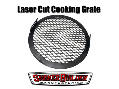 Uds drum smoker cooking grate- laser cut with expanded metal pattern