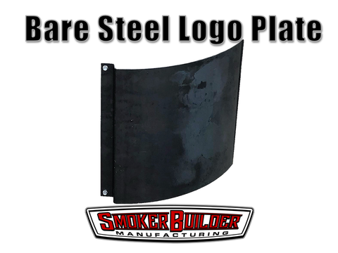 Steel Logo Plate For UDS Drum Smoker