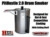 PitHustle 2.0 Competition Drum Smoker BY SMOKERBUILDER®