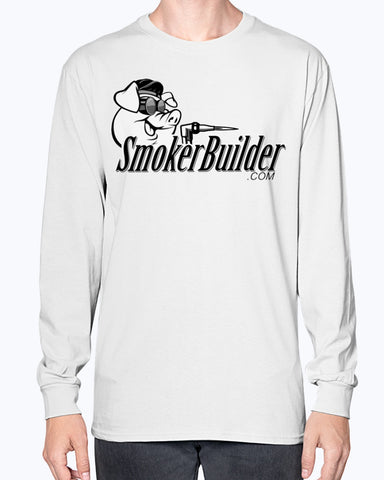 SmokerBuilder GoFast TorchyPig Long Sleeve Tee Shirt