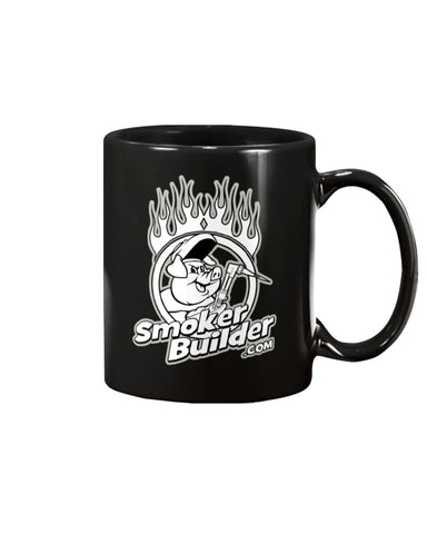 SmokerBuilder Torchy Pig Coffee Mug