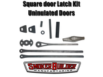 Latch kit for uninsulated square cook chamber doors (Mack™)
