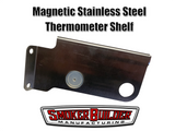 Clearance! Slightly Blemished- Magnetic Stainless Steel Electronic Thermometer Shelf