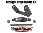 SmokerBuilder Manufacturing straight drop handle bracket kit