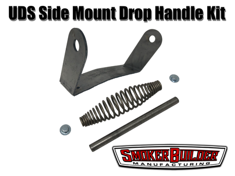 SmokerBuilder Manufacturing uds drum smoker side handle bracket kit