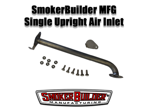 SmokerBuilder Manufacturing uds smoker single upright air inlet kit