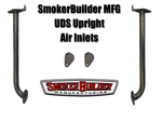 SmokerBuilder Manufacturing uds smoker upright air inlet kit (includes 2- bolt on tubes with covers)