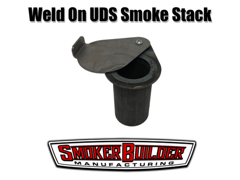 2 inch weld on uds smoker exhaust stack