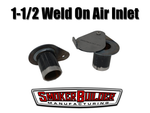 1.5 inch weld on side mount tear drop uds drum smoker air inlet