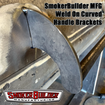 Weld On Curved Style Door Handle Brackets