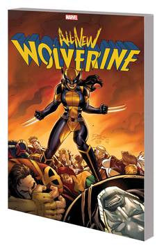 All New Wolverine Tp Vol 03 En emy Of State Ii