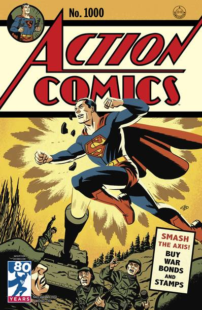 Action Comics #1000 1940s Var Ed (Note Price)