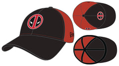 Deadpool Px Black & Red 2 Tone 3930 Flex Fit Cap (C: 1-1-2)