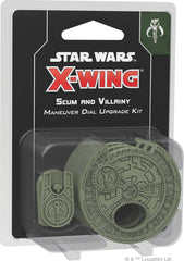Star Wars X-Wing: 2nd Edition - Scum And Villainy Maneuver D ial Upgrade Kit