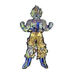 Dragon Ball Z Super Saiyan Gok u XL FiGPiN Enamel Pin