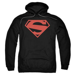 Superman New 52 Red Block Logo Hoodie