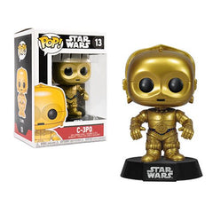 Star Wars C-3po Pop! Vinyl Bob ble Head