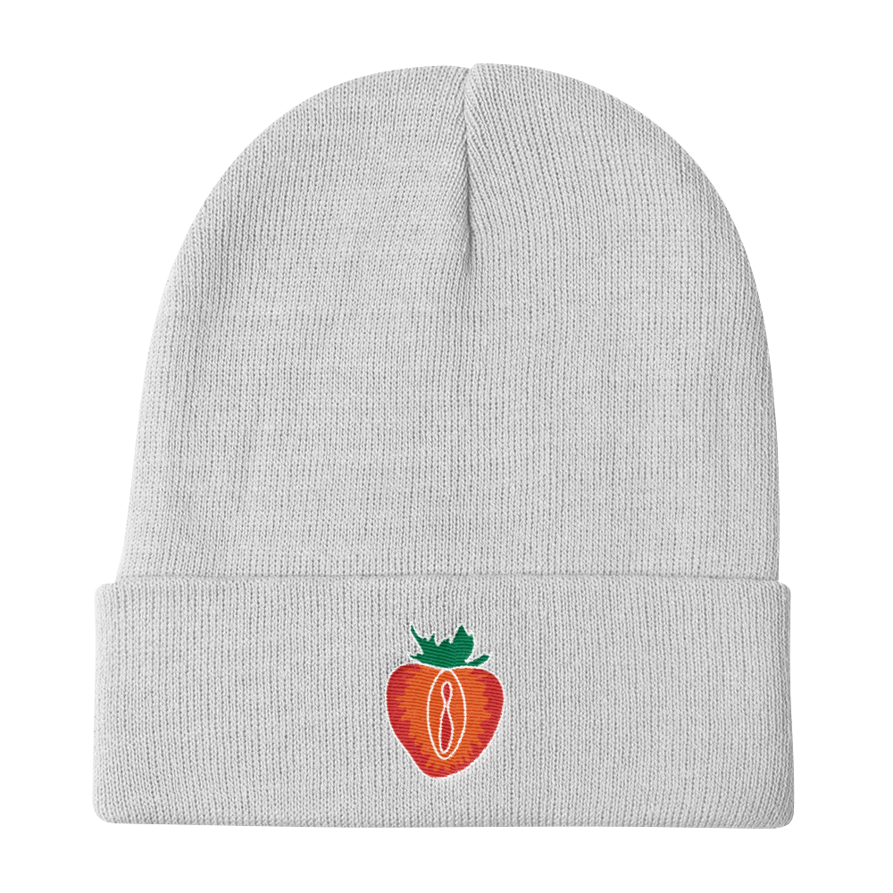 STRAWBERRY Lips Beanie