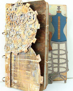 Vintage Dress Form-Chipboard