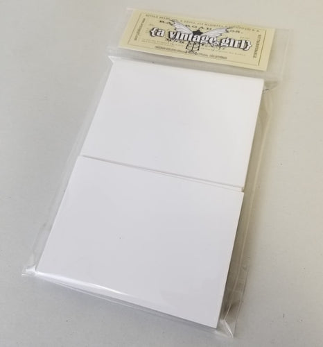 Artist Trading Cards-Pack of 50 Cream Cards