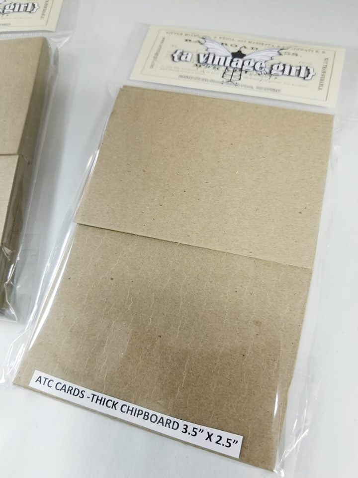 Artist Trading Cards- Heavy Chipboard Pack of 25