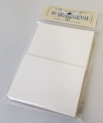 Artist Trading Cards Pack of 50 White Gloss Cards