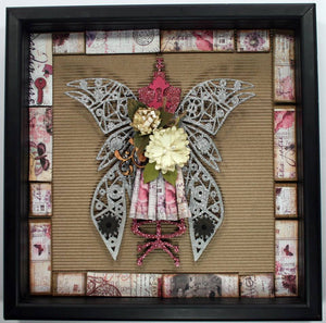 "Wicked Wings 7"" Chipboard"
