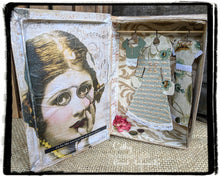 Load image into Gallery viewer, Vintage Dress Up Set- Chipboard