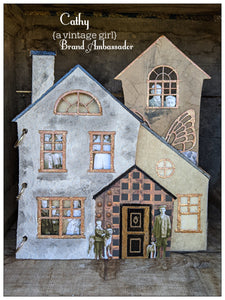 Home Sweet Home Chipboard Album
