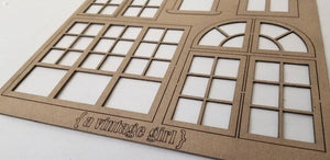 Vintage Architecture Chipboard Set