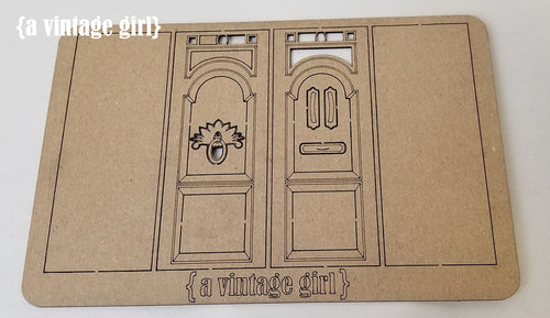 Dimensional Door Chipboard Set